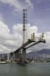 Stonecutters Bridge in Hong Kong under construction
