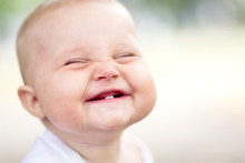 """Постер, картина, фотообои """"Beautiful smiling cute baby"""""""