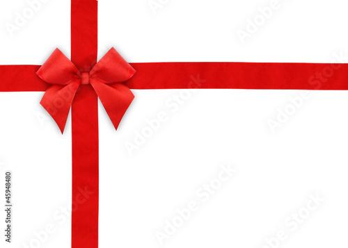 Geschenkband mit Schleife - 45948480