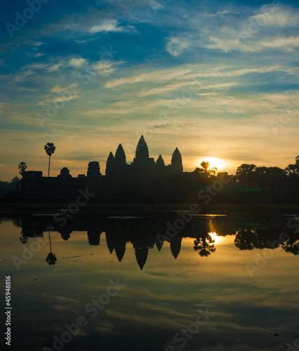 Angkor Wat temple at sunrise, Cambodia