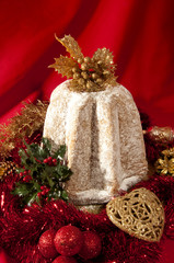 pandoro traditional italian christmas cake-pandoro