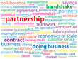 """PARTNERSHIP"" Tag Cloud (business ideas projects innovation)"
