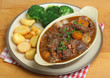 Beef Bourguignon Stew Dinner