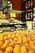 Fresh oranges in grocery discounts