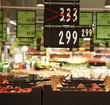 Seasonal discounts in supermarket