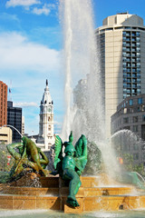 Swann Memorial Fountain, Philadelphia, Pennsylvania