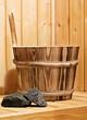 Sauna Aufguss | Aufgusseimer | Saunasteine