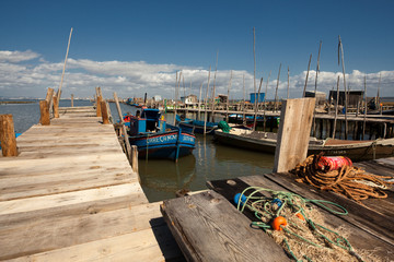 Barcos de Pesca da Carrasqueira