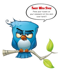 Tweeter Blue Bird Sharp