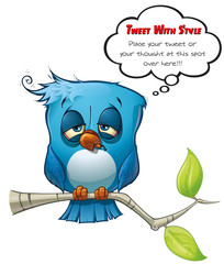 Tweeter Blue Bird Hangover