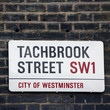 London Street Sign - Tachbrook Street