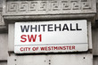 London Street Sign - Whitehall