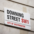 London Street Sign - Downing Street