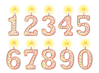Geburtstags-Kerzen