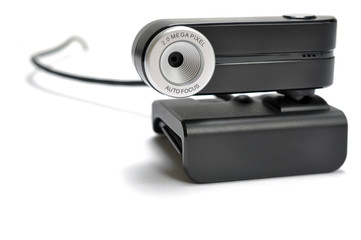 Front-view of a web-cam