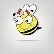 Pretty cute bee girl
