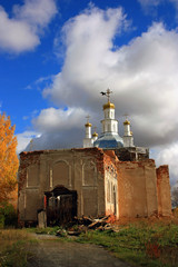 Восстановление православной церкви