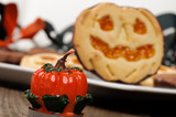 Biscotto di halloween , close-up- selective focus