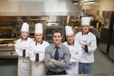 Team of a restaurant