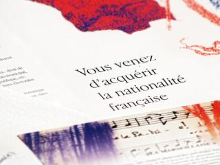 Acquisition de la nationalité française