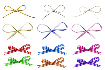Selection of Tied Bows