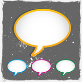 conversation speech bubbles