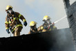 Leinwanddruck Bild - Firefighters