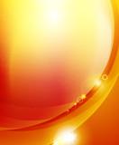Fototapety Sunshine orange background