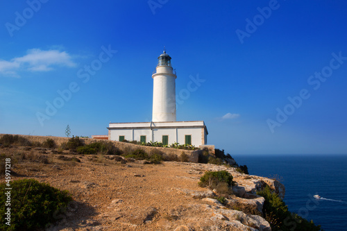 Formentera La Mola lighthouse near Ibiza
