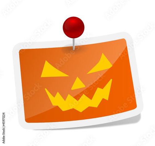 Label Halloween