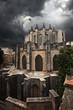 view of Catedral de Gerona. Spain.