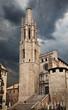Church of Sant Feliu in Girona (Saint Felix). Spain
