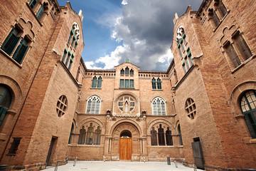 Hospital de la Santa Creu i Sant Pau. Barcelona.