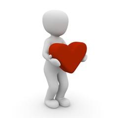 Herz auf Händen tragen