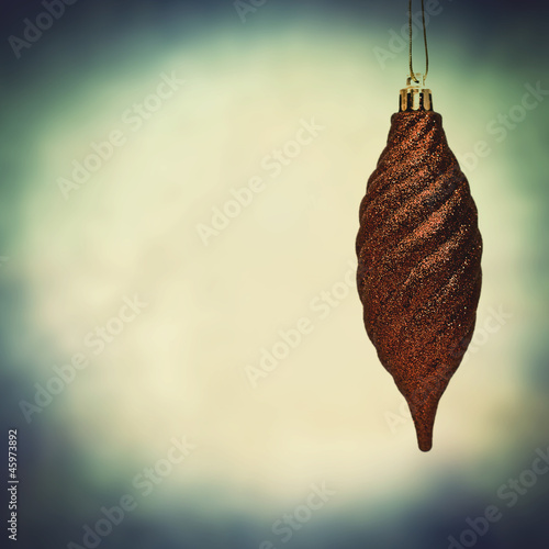 fir cone bauble