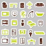 home equipment stickers