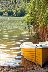 barca nel canneto
