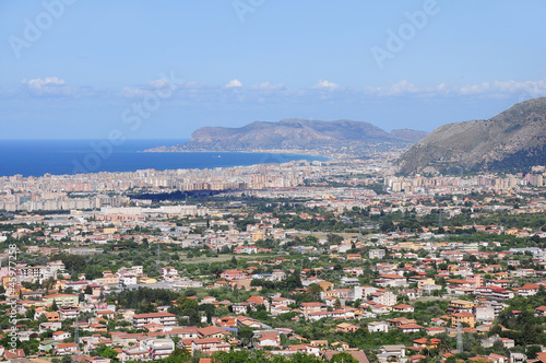 View of Palermo. Sicily.