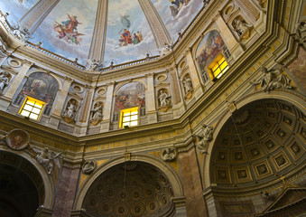 Cathedral of St. Margherita. Montefiascone. Lazio. Italy.