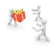 Delivery of gifts