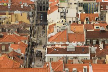 Lisbona vista dall'alto