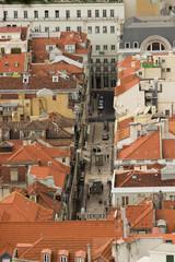 Veduta dal Castelo Sao Jorge-Lisbona