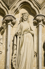 Saint Catherine Statue, Salisbury Cathedral