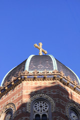 top of a church