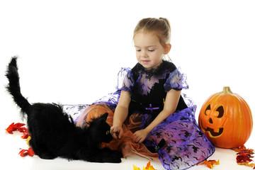 Halloween Beauty with a Beast
