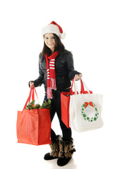 Teen Christmas Shopper