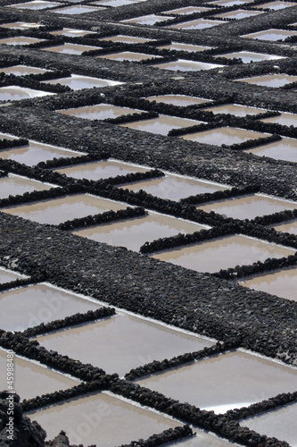 Salt extraction in La Palma