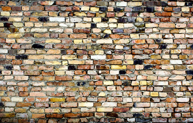 vintage with brick wall