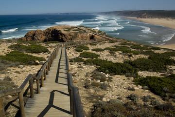 wilde Ostküste Portugals