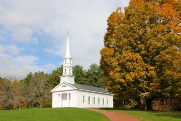 Chapel in Fall